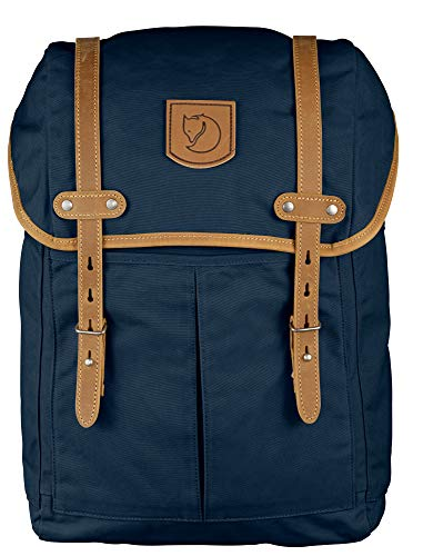 "Fjallraven - Rucksack No. 21 Medium Backpack, Fits 15"" Laptops, Navy"