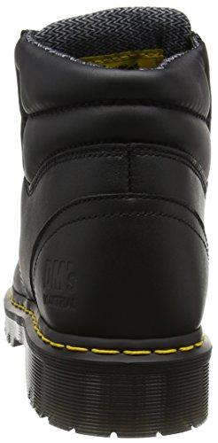 Dr Martens Uomo Nero Stivali Safety Icon 6632 E black Sb Da rOB6BqwpU