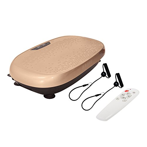 JUFIT Vibration Plateform/ Body Vibration Machine/ Fitness Exercise Equipment to Lose Weight & Tone Muscles,GOLD