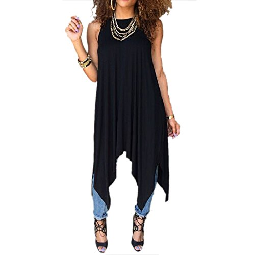 Personality Women Sexy New Loose Casual Party Club Sweet Cute Hot Top Vest Dress (Party Sexy)