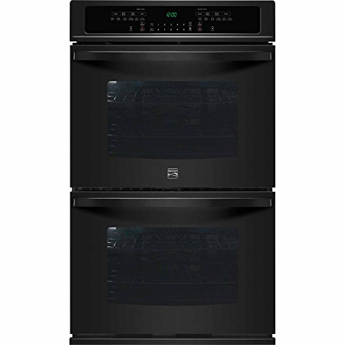 Kenmore 49539 30″ Electric Double Wall Oven with True Convection in Black, includes delivery and hookup (Available in select cities only)