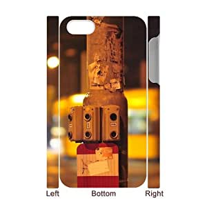 3D iPhone 4/4s Case Men traffic light switches, Traffic Iphone 4s Case For Girls [White]