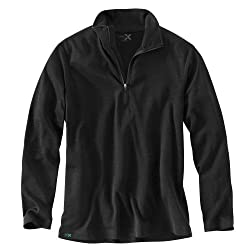 WoolX Explorer 1/4 Zip - Men's Merino Wool Base Layer Top - Midweight, Moisture Wicking Shirt