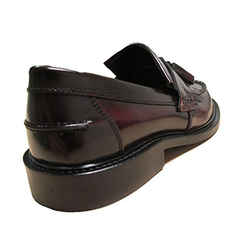 Delicious Junction Mens Bordeaux Rudeboy Mod Ska Tassel Slip On Loafers 8-11 00YJ9Fjzb