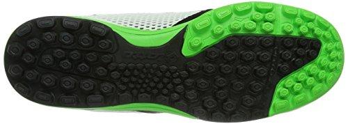 Lotto Sport Torcida - Zapatillas de fútbol para hombre Mehrfarbig (WHITE/FL MINT)