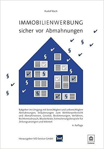 Immobilienwerbung - sicher vor Abmahnungen