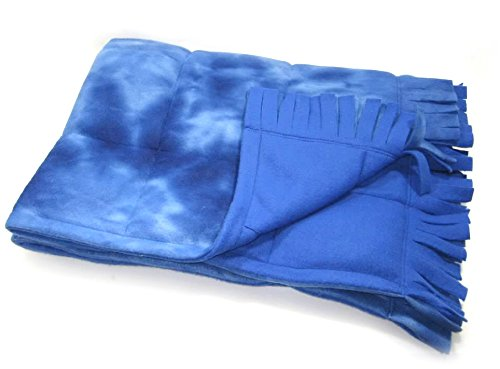 Small Fringed Weighted Blanket (5 Lb - 30x42) - Sensory Tool, Special Needs Aid, Provides Pressure Like a Hug by Covered In Comfort by Covered In Comfort (Image #3)