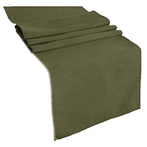 Mesa Olive (Runner Linens Factory Runner Polyester 12x72 Inches By (Olive))