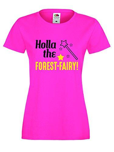 Shirt-Checker - Camiseta sin mangas - para mujer PINK-SCHWARZ-NEONGELB