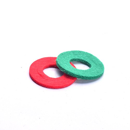 Car Battery Anti-Corrosion Fiber Washers Acid Chemical Corrosion Terminal Protectors for Battery Cable Connection Point Spot (Pack of 2) Battery Washers