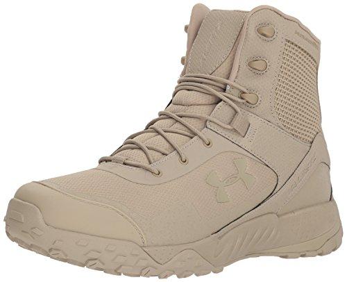 Under Armour Men's Valsetz RTS 1.5 Military and Tactical Boot Ridge Reaper, Desert Sand (201)/Desert Sand, 10.5 (Boots Hiking Desert)