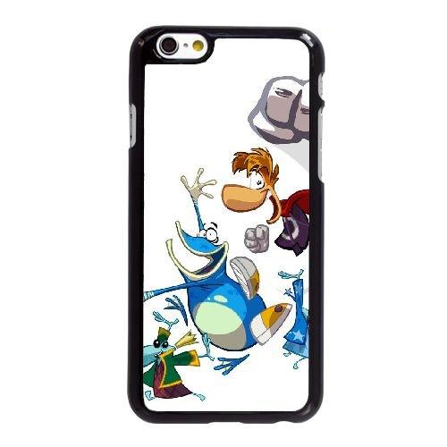 Origines de Rayman M1V37 F8R2XY coque iPhone 6 4.7 pouces cas de couverture de téléphone portable coque noire DA0YSV2AL