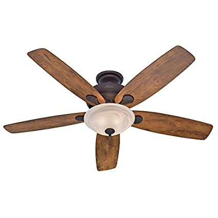 Hunter 60 regalia new bronze ceiling fan with light amazon hunter 60quot regalia new bronze ceiling fan with light aloadofball Choice Image