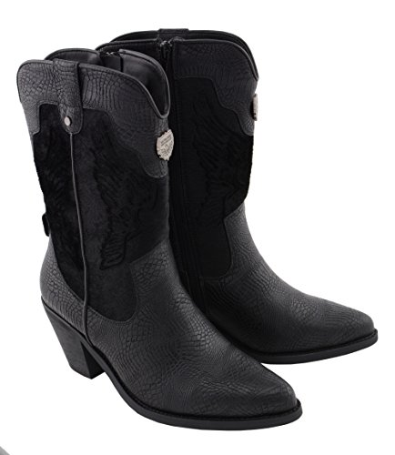 Milwaukee Stiefel M amp; Schwarz 9 Stiefeletten MBL9441 BLACK US Schwarz Damen R7wRx