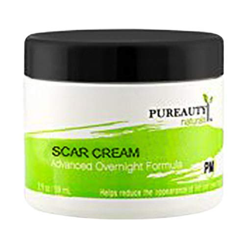Scar Removal Cream Natural Scar (PM) Formula – Advanced Night Time Formula – Help Reduce the Appearance of Old and New Scars – Made in USA With Natural Ingredients – Vegan Friendly