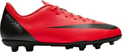 Nike JR Mercurial Vapor 12 Club GS CR7 MG Soccer Cleat (Bright Crimson) (1.5Y)