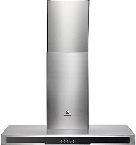 Electrolux EFB90550BX De pared Acero inoxidable 530m³/h C - Campana (530 m³/h, Canalizado/Recirculación, 46 dB, 63 dB, 63 dB, De pared): Amazon.es: Hogar
