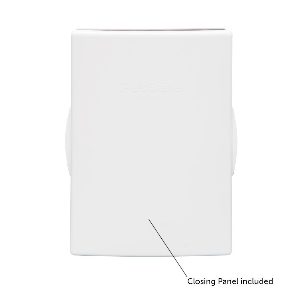 PetSafe Plastic Pet Door Medium, with Soft Tinted Flap, Paintable White Frame, for dogs up to 40 lb. by PetSafe (Image #3)