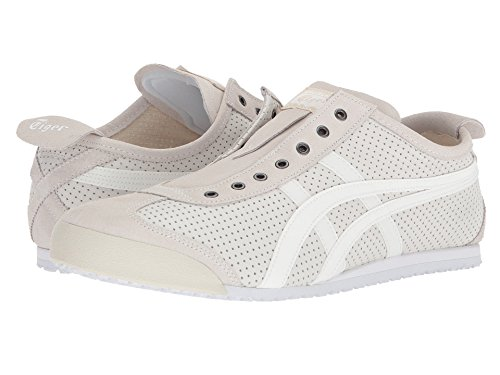 [Onitsuka Tiger(オニツカタイガー)] ユニセックスランニングシューズ?スニーカー?靴 Mexico 66 Slip-On White/White Men's 7.5, Women's 9 (25.5cm(レディース26cm)) Medium