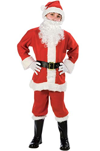 [Fun World Costumes Baby Boy's Child Promotional Santa Suit, Red/White, Small] (Infant Santa Costumes)