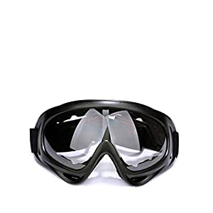 OWIKAR Ski Goggles, Snowboard Goggles Skate Glasses Motorcycle Cycling Goggles with UV 400 Protection, Wind Resistance, Anti-Glare Lenses for Kids, Boys & Girls, Youth, Men & Women