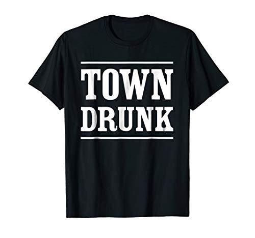 (Mens Town Drunk T-Shirt)