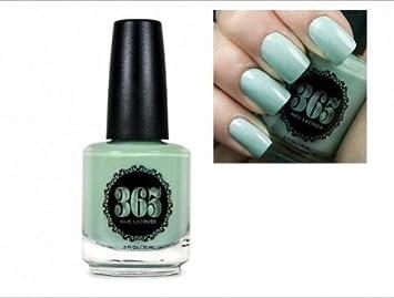 Amazon.com: 365 Lacquer Vegan Nail Polish (Patina (Mint Green ...