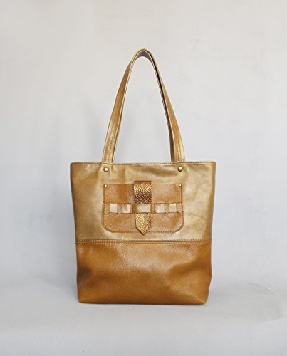 Leather tote bag. Ginger leather bag. Leather shoulder bag. Leather tote. Leather handbag. Tote bag leather. by 5plus