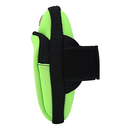 Alomejor Arm Sac Unisexe Smartphone Brassard Band Universelle Paquet vert Téléphone Bras Sport Zv4Fw8qZr