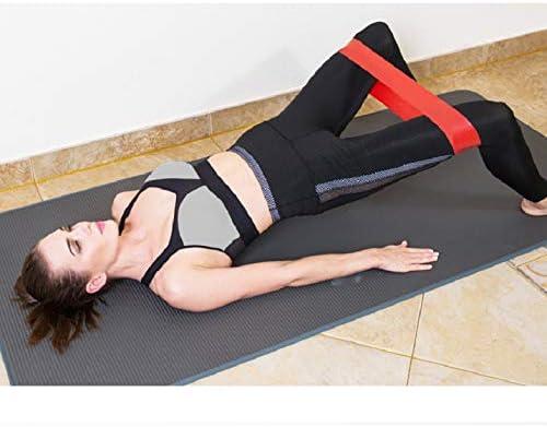 Voqeen 5 Bandas de Resistencia Bandas El/ásticas Fitness y Ajustable Cuerda para Saltar Interior//al Aire Libre Equipo de Entrenamiento Pare Mujer//Hombres