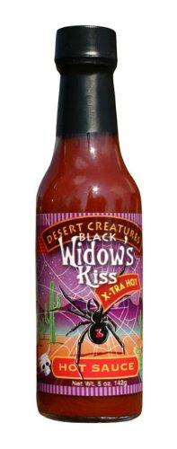 Desert Creatures Black Widows Kiss Hot Sauce