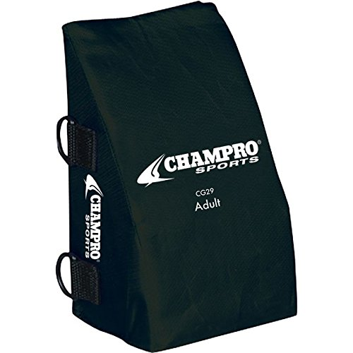 Champro Catcher's Knee Support (Black, Adult)