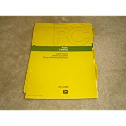 parts Catalog John Deere 2650 and 2651 offset plow