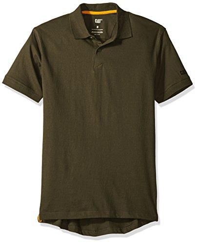 Caterpillar Mens Classic Cotton Polo Shirt