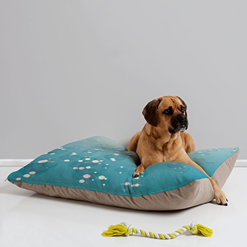 Deny Designs Bree Madden Bubbles in The Sky Pet Bed, 40 by 30-Inch (Bree Bubbles)