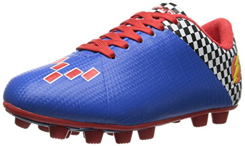 Vizari Prix Soccer Cleat (Toddler/Little Kid), Blue/Red, 1 M US Little Kid