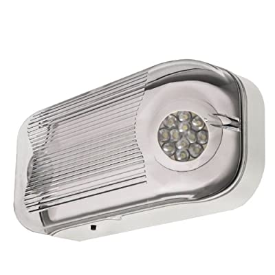 LFI Lights - Emergency Light - Gray Housing - Wet Listed - LED - ELWETLED