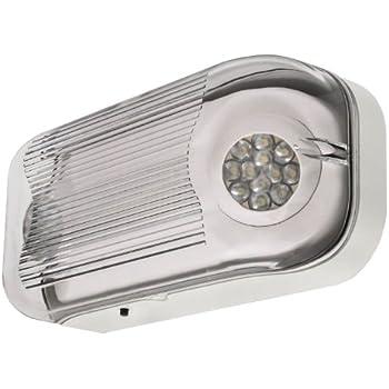 Lfi Lights Hardwired Outdoor Emergency Light Wet Listed Exterior Rated Led Elwetled
