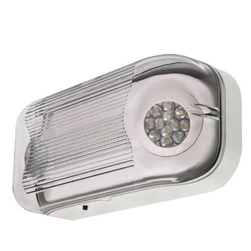 LFI Lights - Hardwired Outdoor Emergency Light - Wet Listed - Exterior Rated LED - ELWETLED