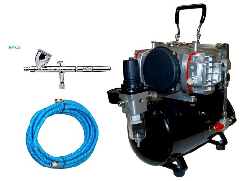 - Iwata Eclipse HP-CS Airbrushing System with Airbrush-Depot Model TC-828