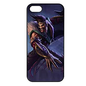 Draven-001 League of Legends LoL cover for Apple iPhone 5/5S Cover - Plastic Black