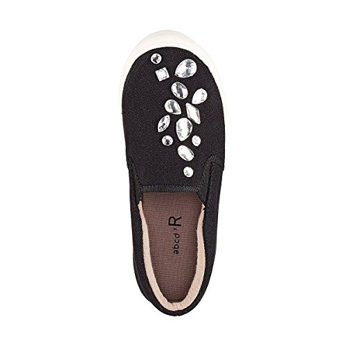 La Redoute Collections Big Girls Jewelled Slip-Ons, 26-39 Black Size 37