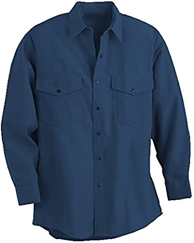 Royal Blue MCR Safety Industrial Waist 48-Inch Inseam 30-Inch Size 52 MCR Safety CC1B52 Contractor Flame Resistant Coveralls Chest 52-Inch