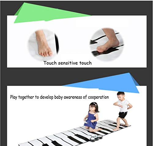 QXMEI Children's Educational Foot Dance Mat Multi-Function Electronic Piano Toy 26074 cm by QXMEI (Image #4)