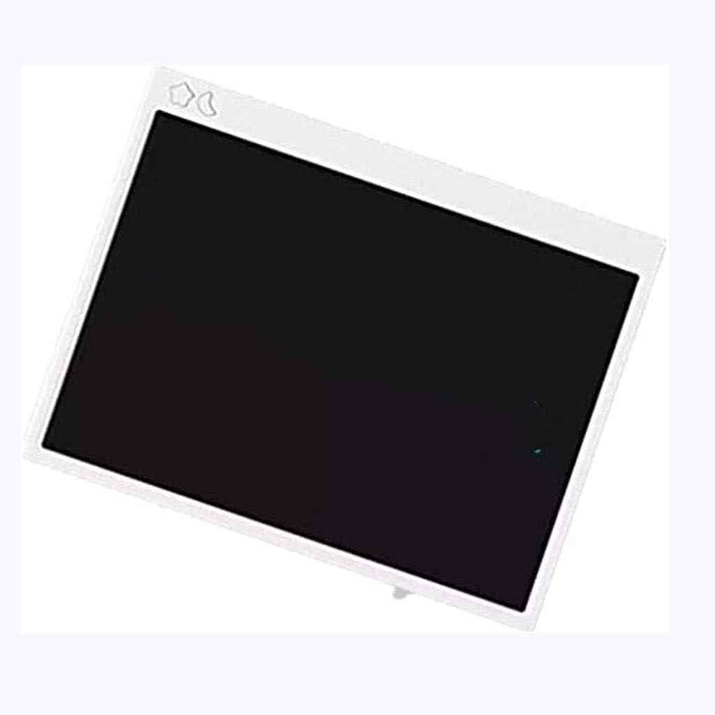Bettgitter LCD Writing Tablet 16 Zoll, Buntes Chargable Löschbar und Wiederverwendbar Schreibtafel Spielzeug (Farbhandschrift) White