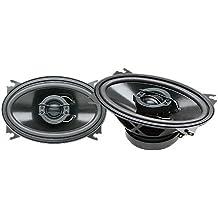 PowerBass S-462 4 x 6-Inch Coaxial 2-Way Speaker Set (Pair)