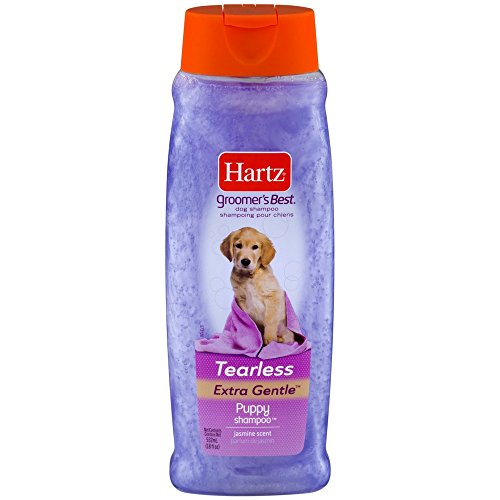 Hartz Groomer's Best Puppy Shampoo, Jasmine Scent 18 oz (Pack of 3)
