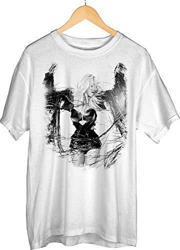 Bioworld Britney Spears Short-Sleeve T-Shirt- Medium White