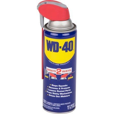 WD-40 Multi-Use Product with SMART STRAW SPRAYS 2 WAYS 12 oz. (1 bottle)