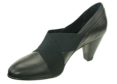 David Tate Karen Womens Pumps-Shoes, Black Nappa Kid, Size - 8Ww